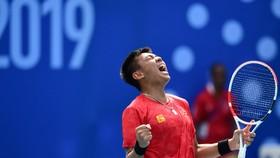 Lý Hoàng Nam có 2 trận thắng trong ngày hôm nay