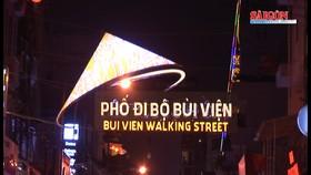 TPHCM chính thức ra mắt phố đi bộ Bùi Viện