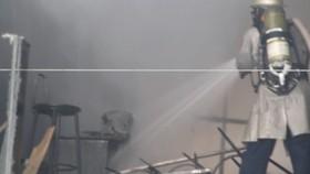 Đà Nẵng: Cháy lớn tại gara ô tô