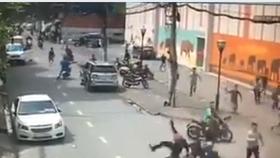 Bắt băng nhóm trộm xe máy bằng xe phân khối lớn