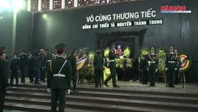 Lễ truy điệu thiếu tá phi công Nguyễn Thành Trung