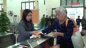 Máy soát vé tự động tại ga Hà Nội đưa vào vận hành