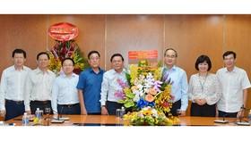 """Bí thư Thành ủy TPHCM Nguyễn Thiện Nhân: """"Báo SGGP đạt thành tựu đáng trân trọng"""""""