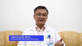 Trưởng khoa Bệnh nhiệt đới Bệnh viện Chợ Rẫy thông tin về vắc-xin phòng Covid-19