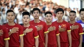 Đội tuyển futsal Việt Nam (ảnh: QUANG THẮNG)