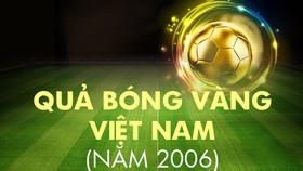 Những chặng đường lịch sử: Giải thưởng năm 2006