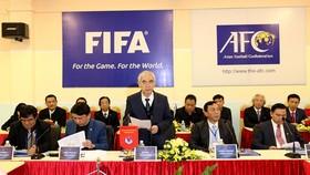 Lãnh đạo VFF cho biết FIFA đang theo dõi rất sát diễn biến trước thềm Đại hội VFF khóa VIII