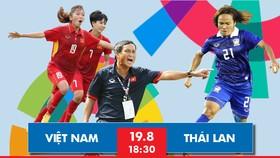 Đội tuyển nữ Việt Nam trên sân tập ngày 17-8