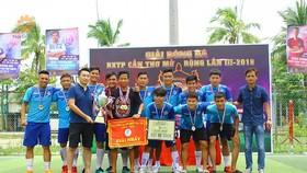 Đội Bạch Mai vô địch giải năm 2018