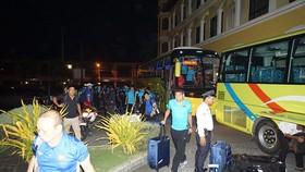 Đội tuyển Việt Nam đã đến Bacolod vào tối 28-11. Ảnh: ANH TRẦN