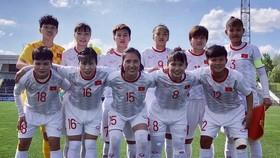 ĐT nữ Việt Nam toàn thắng ở bảng B. Ảnh: Đoàn Nhật