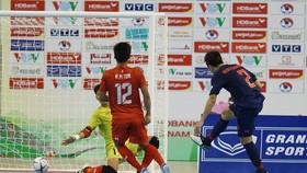 Thái Lan giành chiến thắng áp đảo trước Myanmar. Ảnh: Anh Trần