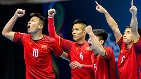 ĐT Futsal Việt Nam hướng đến mục tiêu lần thứ 2 dự World Cup. Ảnh: Anh Trần