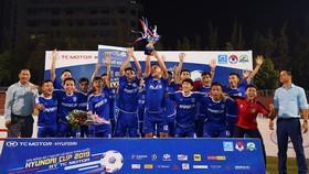 K.Sài Gòn - Minh Cảnh, vô địch SPL-S2. Ảnh: Anh Trần