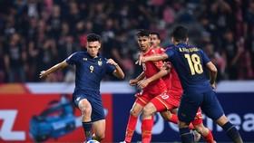 U23 Thái Lan bùng nổ thắng đậm Bahrain ở trận ra quân. Ảnh: AFC