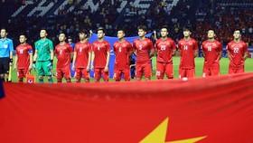 Việt Nam hướng đến mục tiêu giành 3 điểm trước CHDCND Triều Tiên. Ảnh: MINH HOÀNG