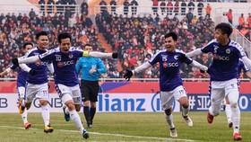 Các cầu thủ CLB Hà Nội sẽ đá trận Siêu Cúp vào ngày 1-3 trên sân Thống Nhất