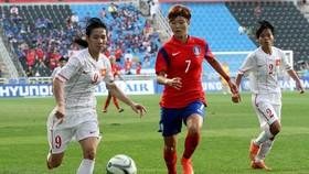 Gặp Hàn Quốc sẽ rất khó khăn cho các cô gái Việt Nam. Ảnh: AFC