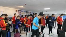 ĐT futsal Việt Nam bắt đầu hành trình tập huấn tại Tây Ban Nha. Ảnh: Anh Trần
