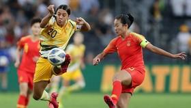 Cuộc so tài giữa Trung Quốc và Australia đã làm mãn nhãn người xem. Ảnh: AFC