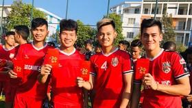 Tiến Linh, Đông Triều, Tấn Tài... sẽ là những trụ cột của B.BD ở LS V-League 2020. Ảnh: BFC