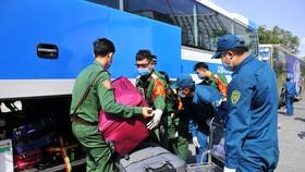 Quân khu 7 sẵn sàng tiếp nhận người về từ vùng dịch trong giai đoạn 3