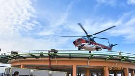 Sân bay cấp cứu bằng trực thăng đầu tiên của Việt Nam chính thức hoạt động