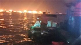 Bộ đội biên phòng TPHCM cứu sống 2 người dân trên sông Đồng Nai