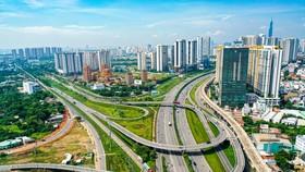 TPHCM dự kiến phát triển 652,11km đường bộ và 211,97km đường sắt, BRT. Ảnh minh họa: L.Quân