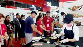Several European firms participated in trade promotion activities in Vietnam. (Photo: SGGP)