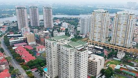 Real estate sector ranks second in FDI attraction. (Photo: SGGP)