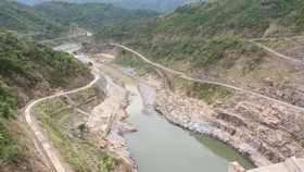 Water levels of hydroelectric reservoirs at 30-year low