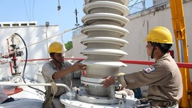 The electricity generation and distribution sector sees a strong increase in the number of newly-established enterprises. (Photo: SGGP)