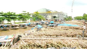 Vi Thanh Sugar Refinery has to close due to a shortage of material sugarcane. (Photo: SGGP)