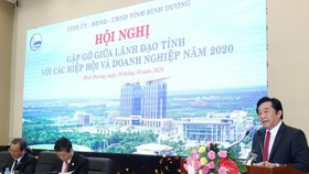 Binh Duong Province pledges to accompany enterprises