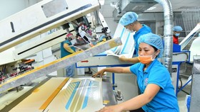 Minh Man Printing Co., Ltd. has joined the supply chain for Samsung Group through efforts to improve production processes. (Photo: SGGP)