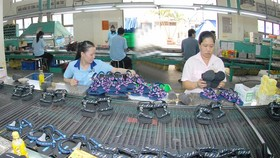 Footwear production at Biti's Company. (Photo: SGGP)