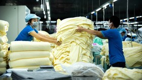 Production of household textiles for export to the US at Phong Phu Corporation. (Photo: SGGP)