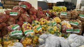 Lam Dong donates 5,000 tons of vegetables to HCMC