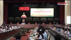 Lãnh đạo TPHCM gặp gỡ 170 thiếu nhi nhân dịp đầu xuân 2019