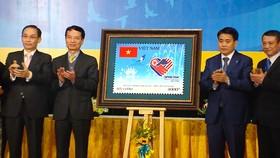 """Phát hành bộ tem đặc biệt """"Chào mừng Hội nghị Thượng đỉnh Mỹ - Triều Tiên"""""""