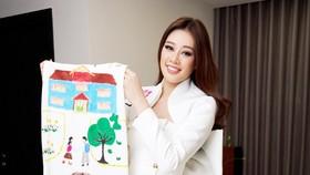 Dự án bảo vệ trẻ em xâm hại của hoa hậu Khánh Vân được tổ chức Miss Universe quan tâm