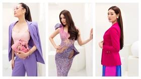 Hoa hậu Khánh Vân biến hóa với ba phong cách thời trang khác nhau