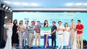 Giải Golf thiện nguyện Hoa Hậu Hoàn vũ Việt Nam quyên góp được 690 triệu đồng xây dựng 2 cây cầu tại tỉnh Long An