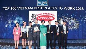 Acecook Việt Nam xếp thứ 25 Nơi làm việc tốt nhất Việt Nam 2018