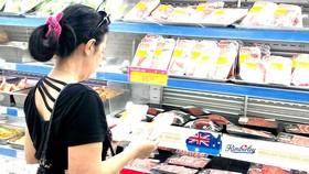 Các sản phẩm thịt heo tại thị trường TPHCM vẫn đảm bảo an toàn