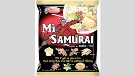 Acecook Việt Nam ra mắt Mì Samưrai có nguyên liệu thảo dược