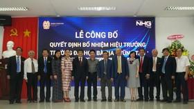 GS-TS Nguyễn Lộc được bổ nhiệm giữ chức Hiệu trưởng Trường Đại học Bà Rịa – Vũng Tàu