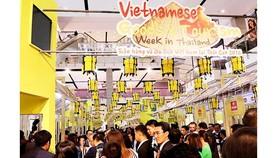 Hàng Việt được bán tại siêu thị ở Thái Lan