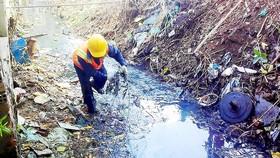 Tập trung giảm ô nhiễm môi trường do nước thải